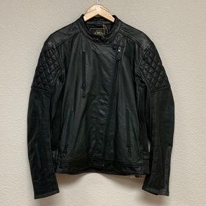 RSD Premium Men's Clash Black Leather Jacket